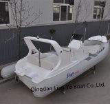 Liya 22pés China Costela Hypalon Fibra Barco Barcos insufláveis Venda