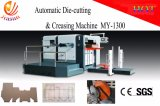 Halbautomatisches Vorlagenglas-stempelschneidene und faltende Flachbettmaschine (gewöhnlicher Typ)
