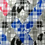 Tessuto del tessuto di seta naturale di /Micro della pelle della pesca della saia del poliestere per gli indumenti di Abaya