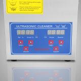 2L'industrie en acier inoxydable chauffée nettoyeur ultrasonique Commercial Bestequip 60W Puissance de chauffage à ultrasons minuteur numérique et tempérer