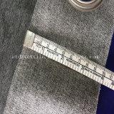 Color gris de alta calidad nuevas cortinas de tela de cortina