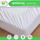 Rey doble ajustado suavidad impermeable de la cubierta del algodón del protector del colchón de Terry solo