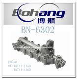Bonai Motor-Ersatzteil Hino Eh07D Ölkühler-Deckel (15711-1150/15711-1360)