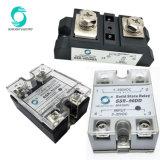 AC 반도체 계전기 모듈 SSR-90AA 90A 입력 80-280VDC 산출 24-380VAC 릴레이 고체에 AC