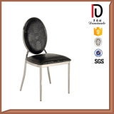 Antiker Edelstahl, der Stuhl speist
