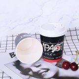 Biodegradable кофейная чашка бумаги стены 12oz высокого качества устранимой напечатанная таможней двойная с крышками