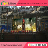 단계 쇼 P2.5/P3/P3.91/P4/P4.81/P5/P5.68/P6/P6.25를 가진 도매가 임대 LED 영상 벽 또는 전시 또는 스크린