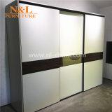 Quarto Conjuntos de mobiliário de madeira roupas MDF armário de parede guarda-roupa
