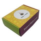 Aceitar a caixa de empacotamento do papel ondulado de pedido feito sob encomenda para a venda