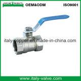 5 anos de garantia de qualidade da Válvula de Esfera de latão redutor em níquel (AV1011)