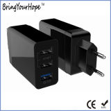 3ports UL adopté QC 3.0 Smart mur (chargeur USB XH-UC-053)