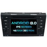 Witson oito core Android Market 8.0 aluguer de DVD para Mazda 3 2004-2009 4G ROM Ecrã Táctil 1080P 32GB ROM ecrã IPS