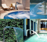 Acquazzone esterno della piscina del conimetro a urto di massaggio della STAZIONE TERMALE di Fenlin