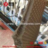 Machine hydraulique de filtre-presse de membrane de pp avec le filtrat ouvert