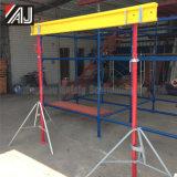 コンクリートの壁、平板のビーム、広州の製造業者をサポートするための調節可能な鋼鉄支柱の足場
