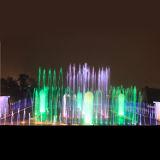 Giardino dell'interno o esterno personalizzato che balla la fontana di acqua musicale