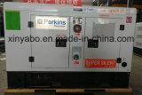 Super Silencioso 100kVA Precio Generador Diesel con motor Perkins de venta