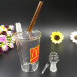 Труба водопровода чашки молока изготовления стеклянная для курить