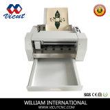 Máquina que corta con tintas de la escritura de la etiqueta automática de la etiqueta engomada