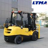 Ltma 2-3トン日産日本のエンジンを搭載する小型ガソリンフォークリフトLPGのフォークリフト