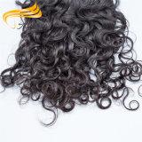Weave cambojano não processado natural do cabelo de Remy do cabelo da alta qualidade