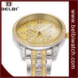 Belbi 꽃 다이얼 다이아몬드 디자인 숙녀 선물 시계