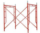 안전 Q235 건축을%s 관 강철 프레임 비계