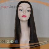 Pelo humano barato ninguna peluca de la franja (PPG-l-01658)