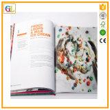고품질 두꺼운 표지의 책 풀 컬러 요리책 인쇄