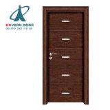 新しいデザインIntalyの自然な卸し売り木のドアはマレーシアの価格をカタログする