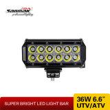 6.5inch 36W CREE LED, der den hellen Stab nicht für den Straßenverkehr bearbeitet
