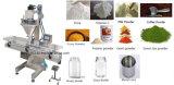Máquina de rellenar del polvo en línea popular