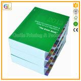 Libro Softcover di disegno del cliente, stampa dello scomparto, stampa dell'opuscolo