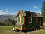 Canyu Ecoの車輪の住宅の小屋のトレーラーの家