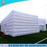 ショーのテントを広告する100%年の工場膨脹可能な玄関ひさしの巨大な立方体のテント