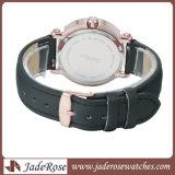 Reloj de acero inoxidable reloj deportivo de cuero de moda ver ver ver de nuevo estilo