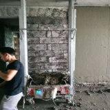 Macchina di spruzzatura dello spruzzo del cemento del mastice della rappresentazione della macchina dell'intonaco del mastice del mortaio della parete da vendere