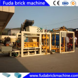 Pavimentadora de concreto automática máquina de fabricación de ladrillos medianas