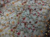 Tessuto del merletto della rete di disegno del fiore di /Kid dei 2018 bambini della molla piccolo per il vestito