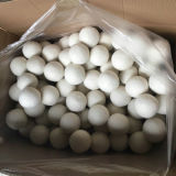 Met de hand gemaakte Groene Landry Dryer Ball Felted Wool Drogere Bal
