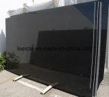 Mattonelle/lastra nere del granito dello Shanxi del pavimento nero assoluto del granito della decorazione della parete