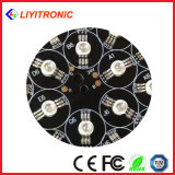 1W diodo amarillo del poder más elevado LED de 60/90/120 grado 45mil 588-592nm 50-60lm