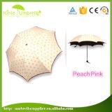 ライト級選手3のフォールドの女性絹プリント空想の傘