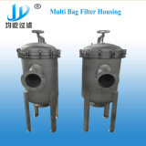 Alloggiamento del filtro a sacco del reagente chimico dell'acciaio inossidabile multi
