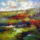 高品質の抽象的な景色の油絵の壁の芸術の家具