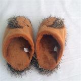 Poussoir animal de vente de Brwon de peluche chaude de hérisson pour le ménage