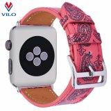 Appleの腕時計、Iwatchの革バンドの置換のためのカスタム印刷の本革バンド
