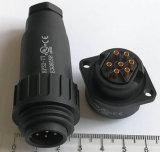 Kp32-7tのULによって証明されるプラスチック円コネクター