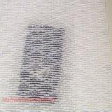 Tela de algodón tejida teñida del poliester para la ropa de la alineada de la falda de la camisa