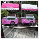 イタリアのアイスクリームのカート、アイスクリームのカートを販売するため